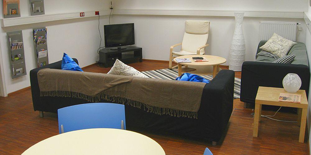 Комната отдыха в Modul University