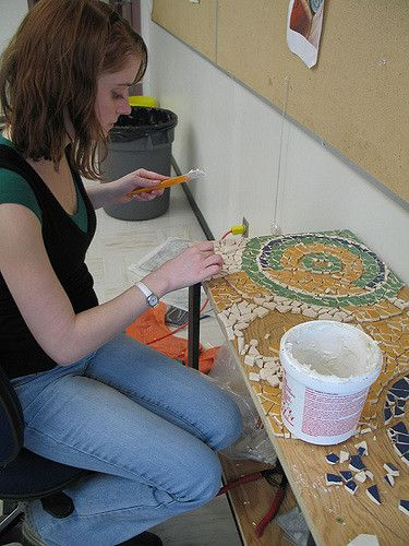 Урок искусств в Lake Land College