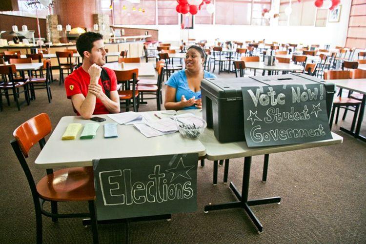 Выборы в студсовет Manhattanville College