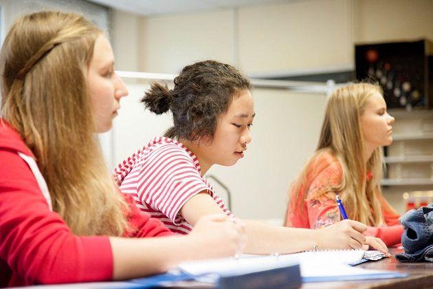 Студенты Academic Juniors, DLD College London