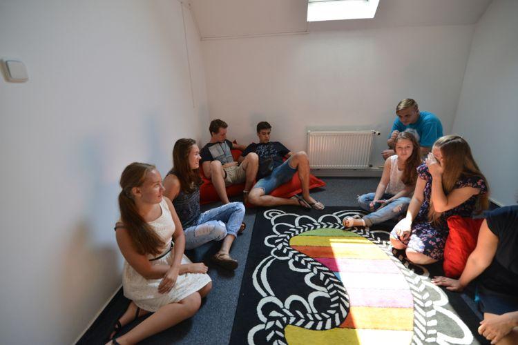 Студенты на отдыхе в Образовательном Центре «Association»