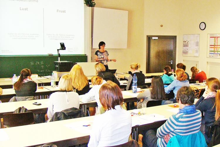 На лекции в FHWS