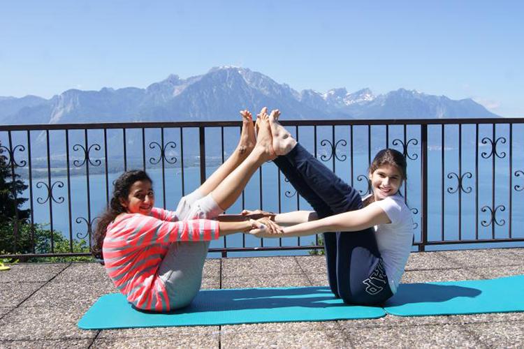 Занятия спортом вSurval Montreux