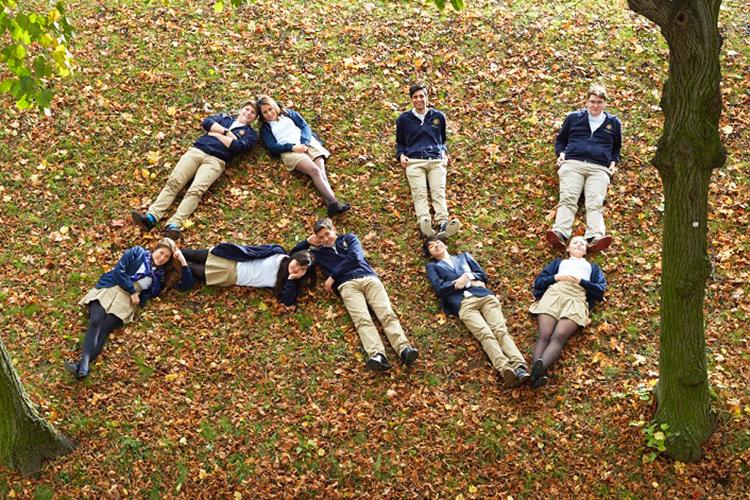 Студенты AMADEUS в парке