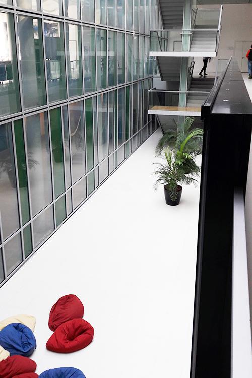 Студенческая лаунж-зона в библиотеке Jacobs University