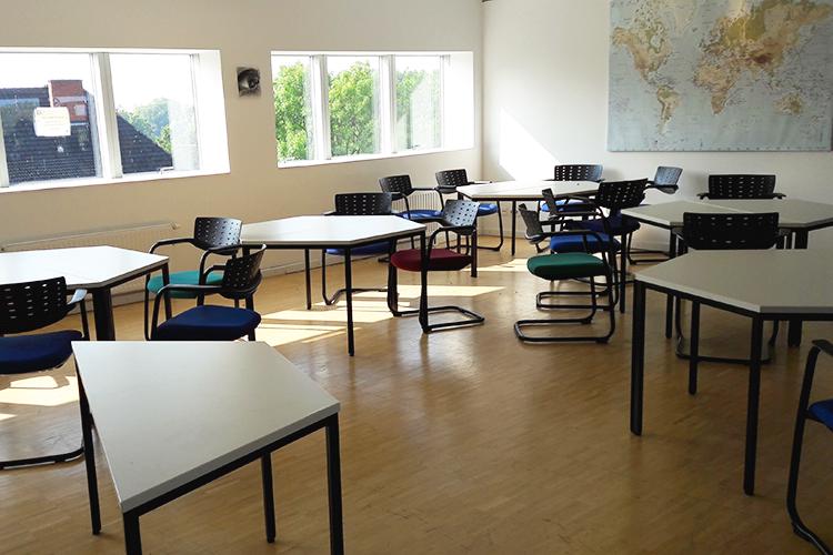 Комната для совместной работы студентов Jacobs University