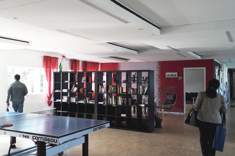 Лаунж-зона Jacobs University