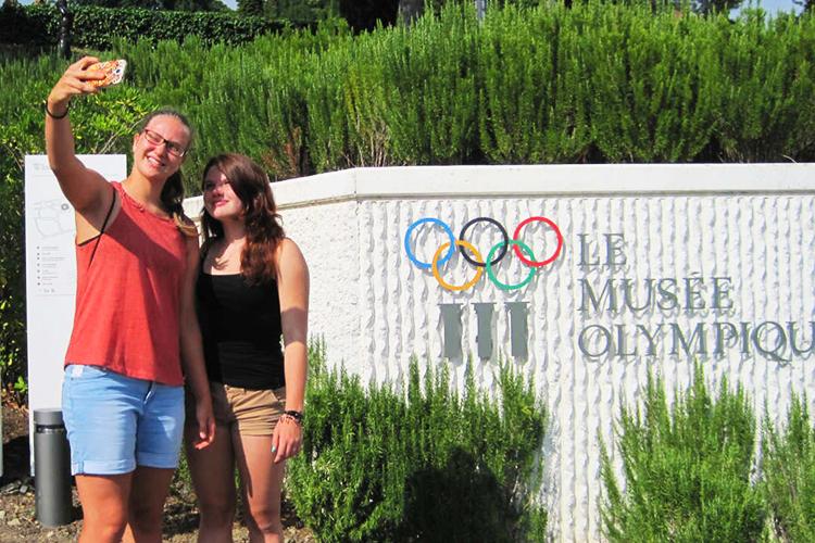 Экскурсия в Олимпийский центр