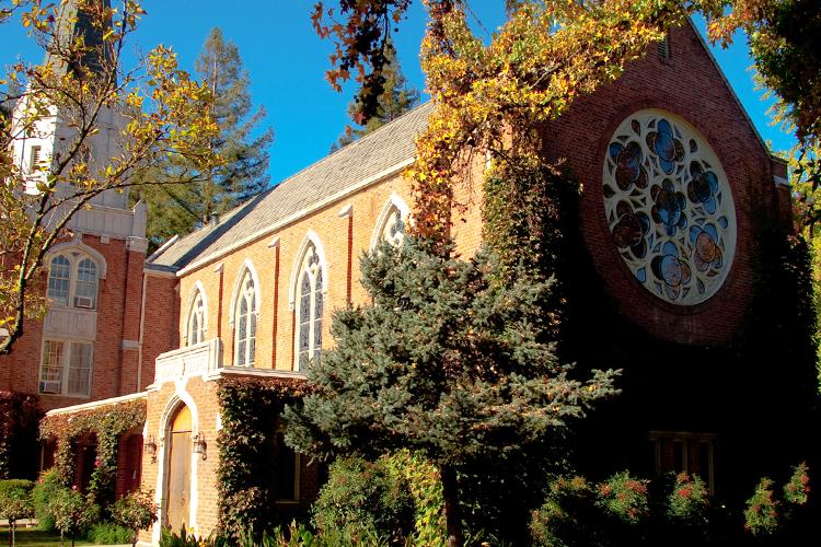 Молитвенный центр на территории кампуса University of the Pacific