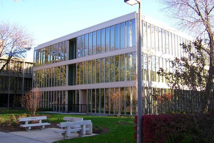 Главный корпус University of Illinois at Chicago