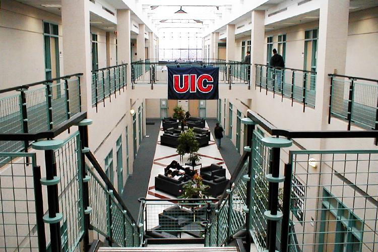 Внутри University of Illinois at Chicago