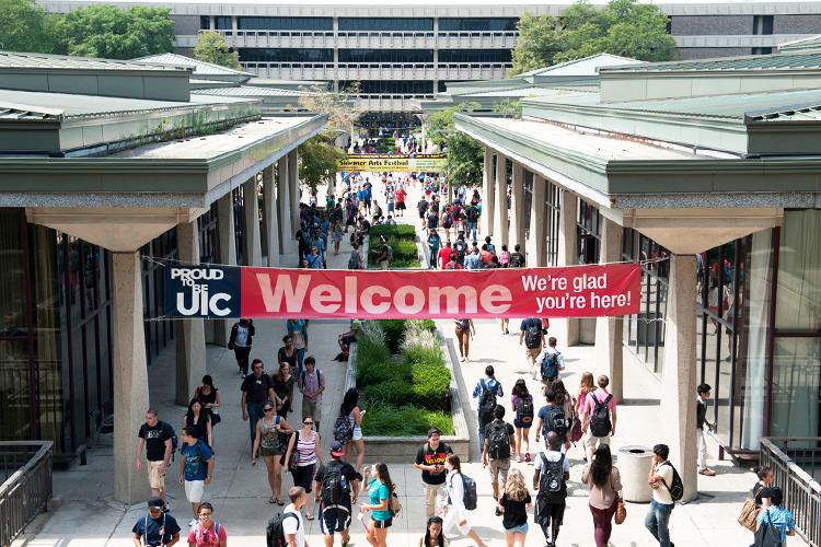 День открытых дверей в University of Illinois at Chicago