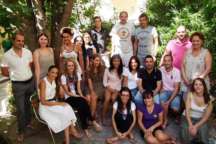 Студенты Azurlingua, Nice