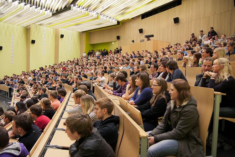 Аудитория Darmstadt