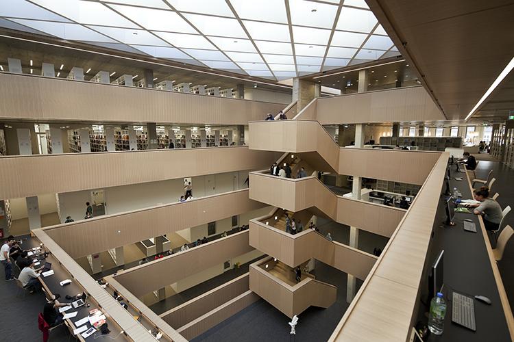 Библиотека Darmstadt
