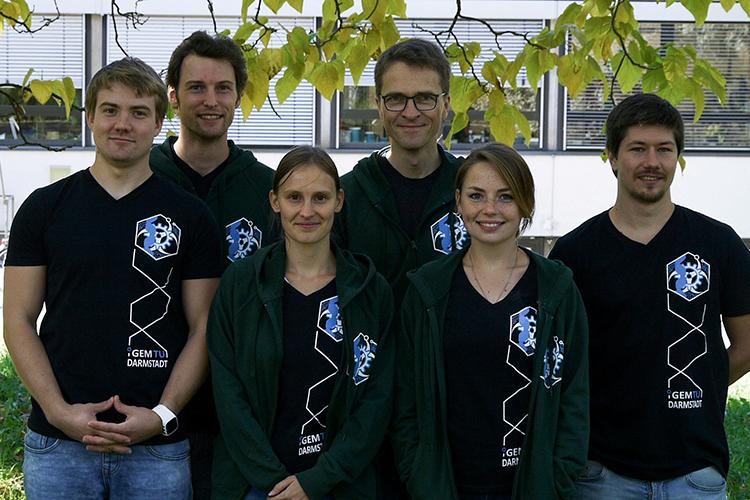 Координаторы программы iGem в Darmstadt