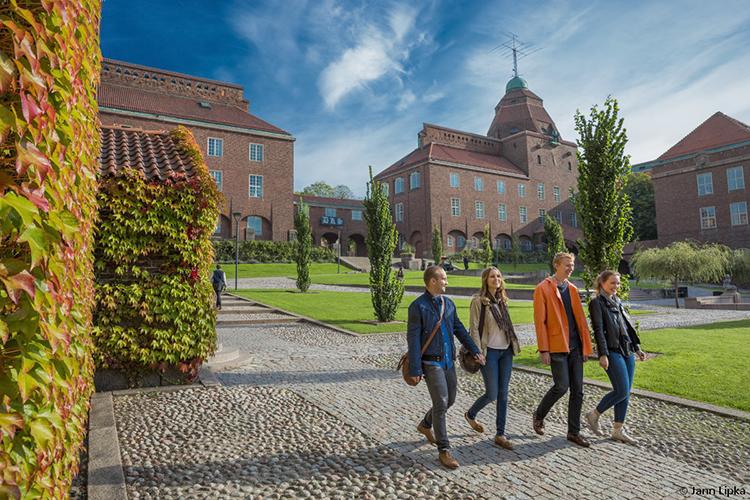 Территория кампуса Darmstadt