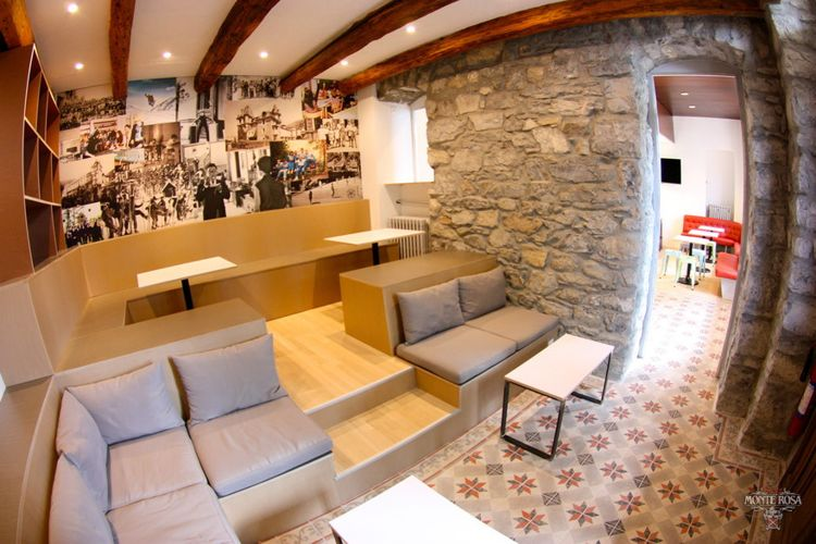 Снек-бар в Institut Monte Rosa