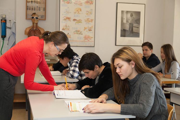 Обучение в Institut Monte Rosa