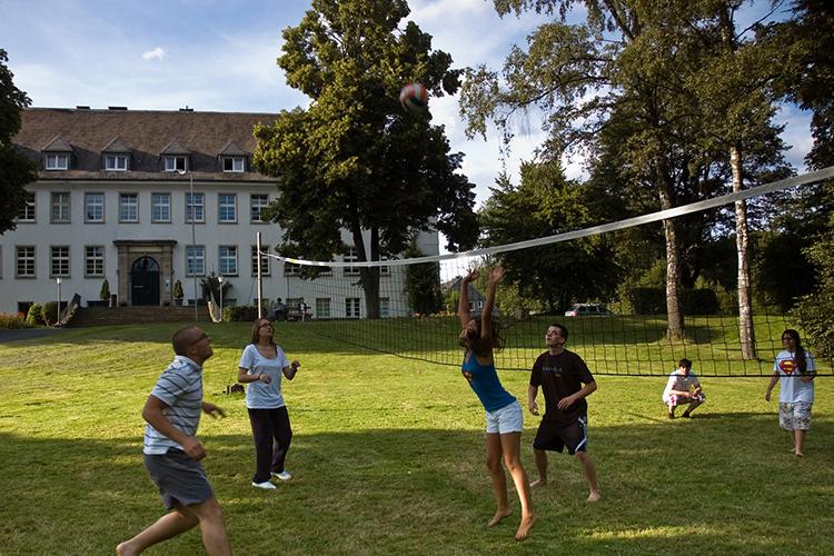 Активный отдых студентов Humboldt Dusseldorf