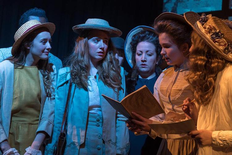 Театральная практика студентов Arts University Bournemouth