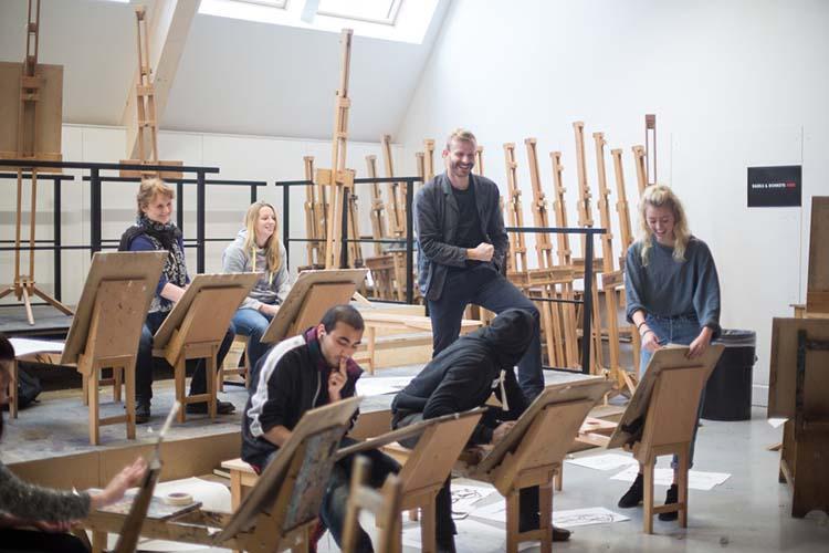 Процесс обучения в Arts University Bournemouth