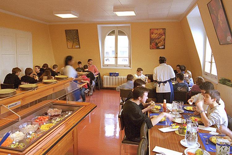 Кафетерий в Lemania College Lausanne