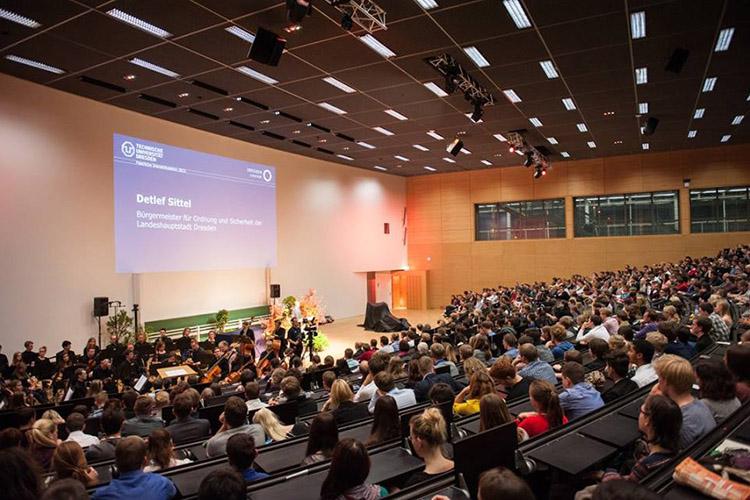 Конференция в Technische Universität Dresden