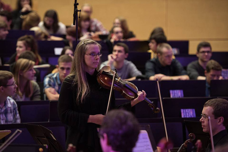 Концерт в Technische Universität Dresden