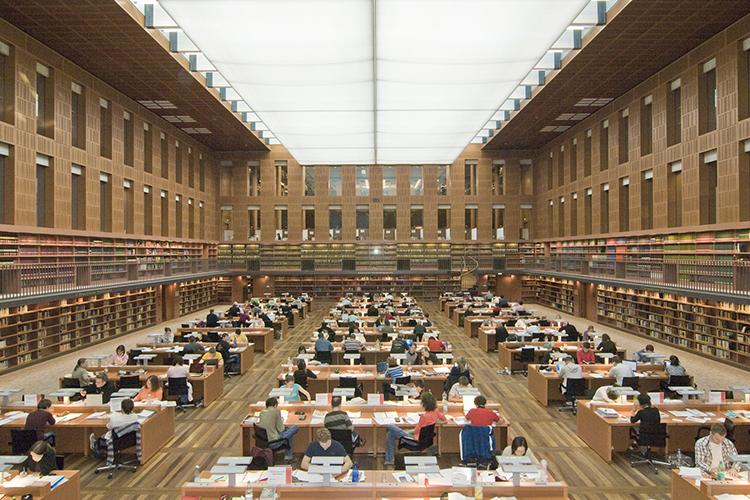 Библиотека Technische Universität Dresden