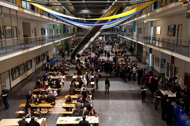 Обед в Technische Universität München