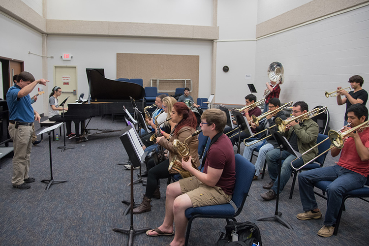 Оркестр в Texas A&M University-Corpus Christi