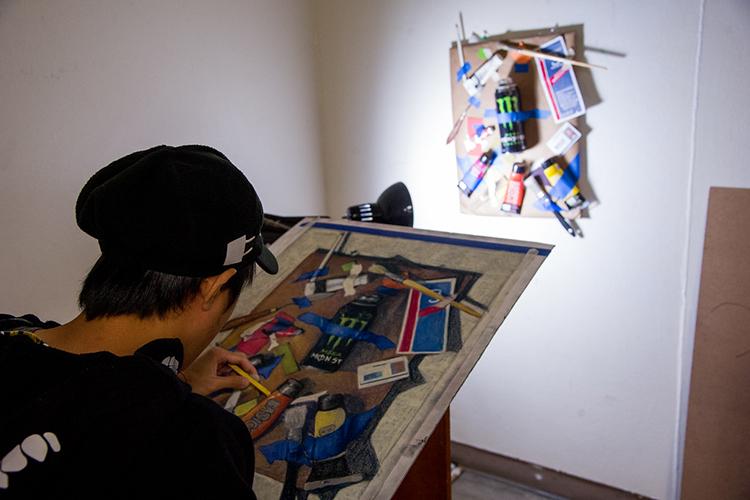 Уроки изобразительного искусства в Texas A&M University-Corpus Christi