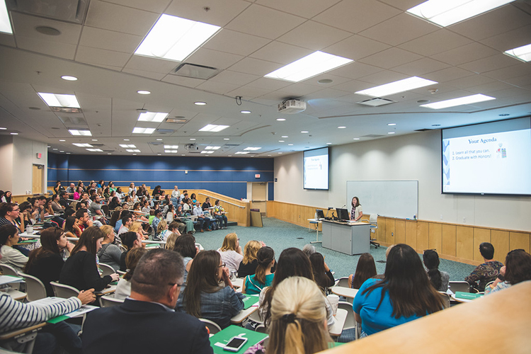Лекция в Texas A&M University-Corpus Christi