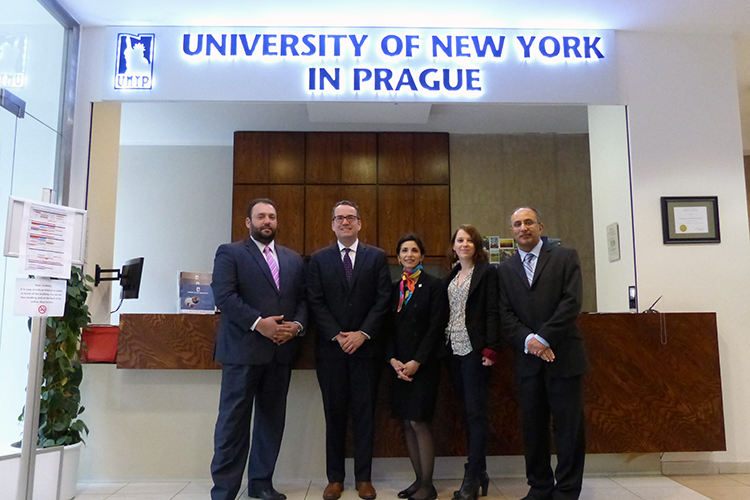 Преподаватели University of New York in Prague