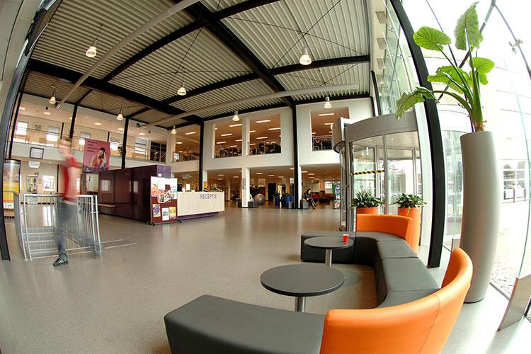 Холл Fontys University of Applied Sciences