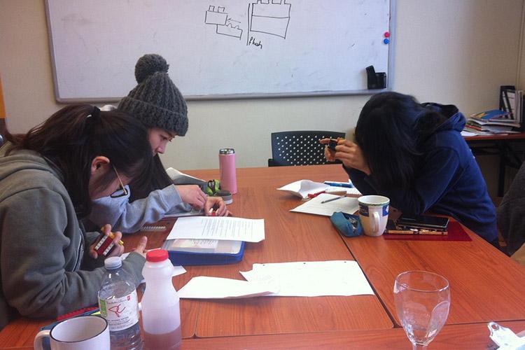 Студенты Eurocentres Atlantic Canada, Lunenburg