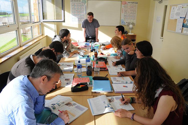 Процесс обучения в Galway Cultural Institute