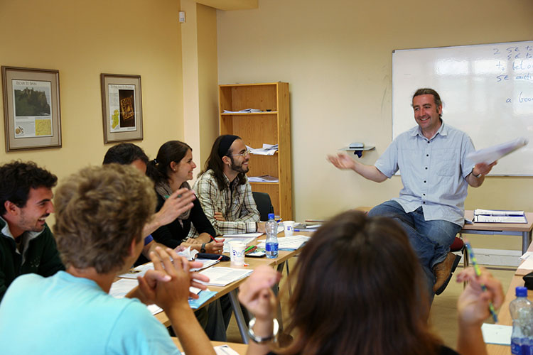 Урок в Galway Cultural Institute
