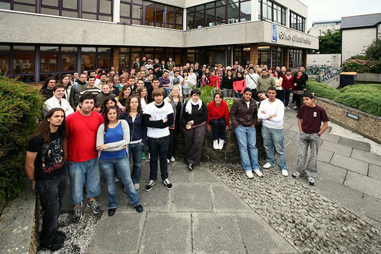 Студенты Galway Cultural Institute