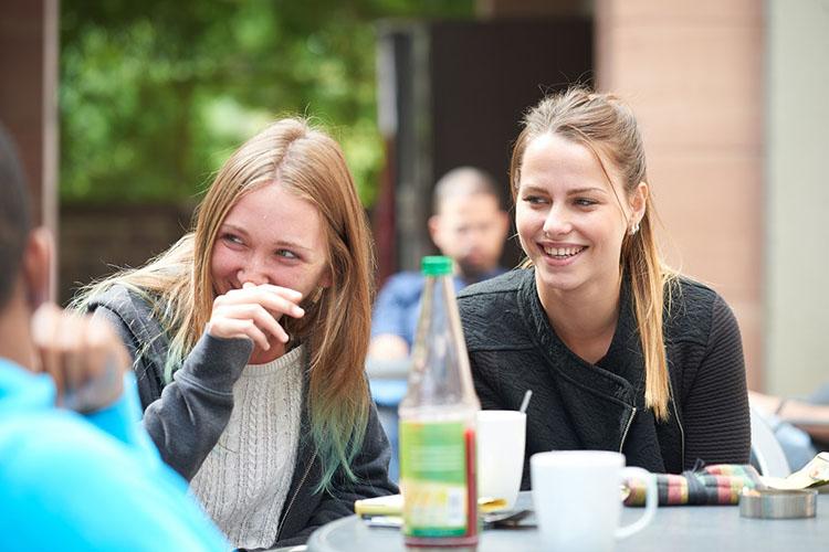 Кофе-брейк студентов International House Heidelberg