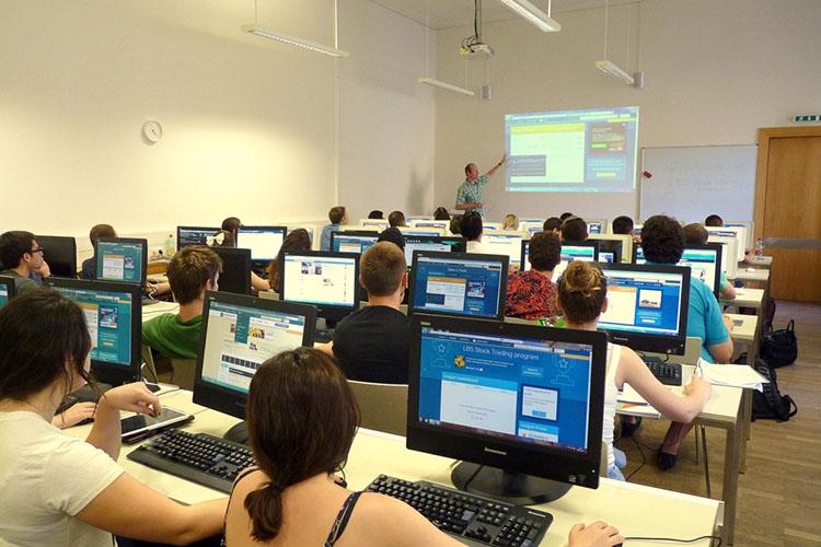 Компьютерный класс Lauder Business School