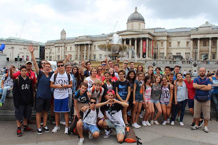Студенты LAL Brighton на экскурсии
