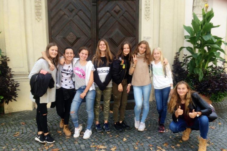 Студенты Schloss Neubeuern