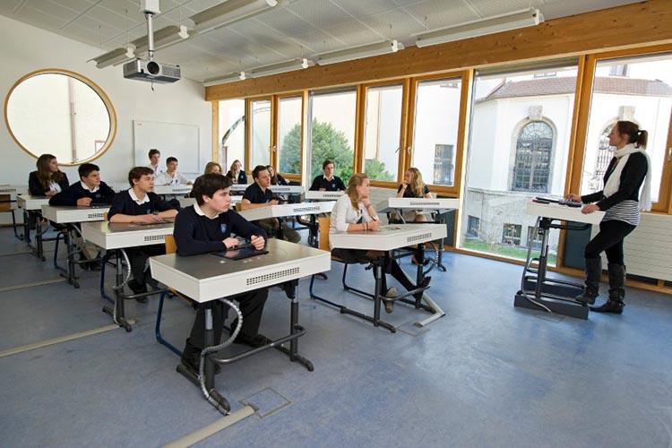 Процесс обучения в Schloss Neubeuern