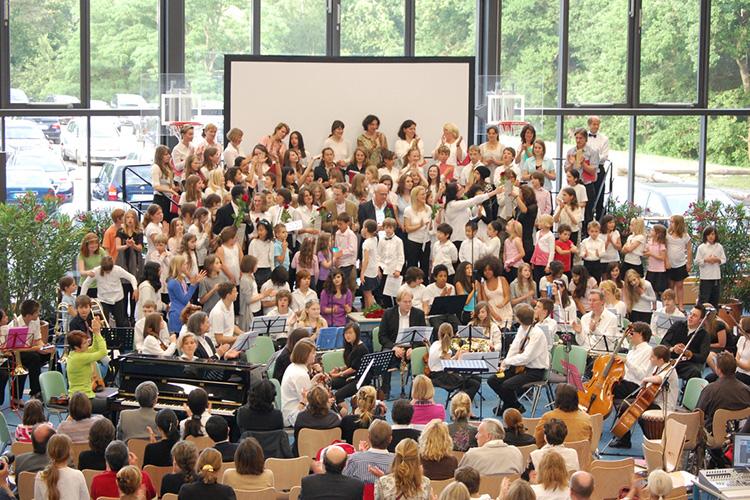 Выступление студентов Berlin Brandenburg International School