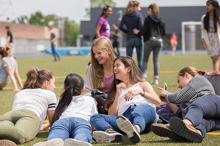Студенты Berlin Brandenburg International School на отдыхе