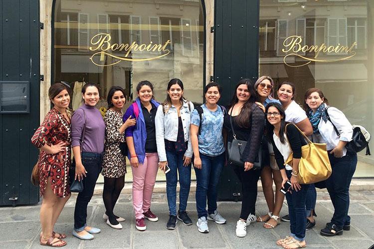 Студенты Mod'Art International, Paris