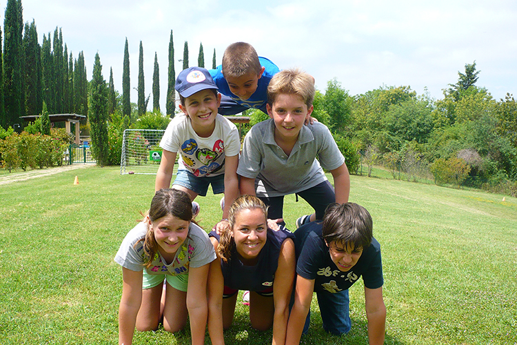 Развлечения студентов в Alphabet International Camps, Todi