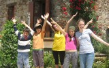 Студенты Alphabet International Camps, Todi